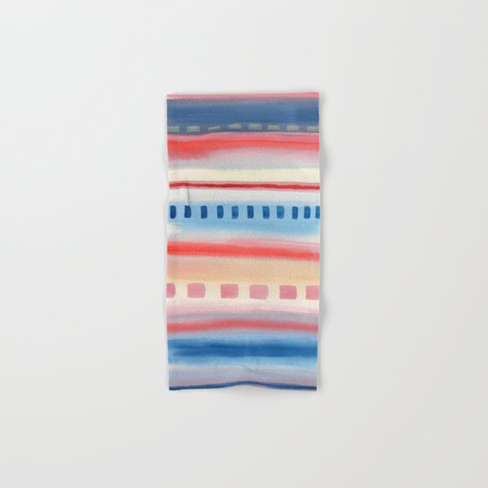 Watercolor Pastel V. G. 01 Hand & Bath Towel