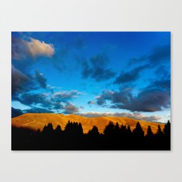 Sun and the Darkness Canvas Print