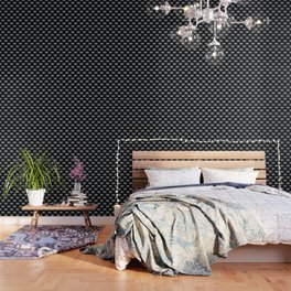 Eye of wisdom pattern - Black & White - Mix & Match with Simplicity of Life Wallpaper