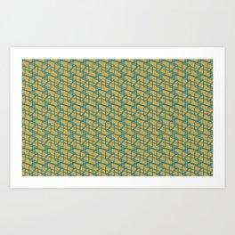 Bauhaus Prisms Art Print