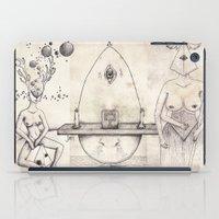 tarot iPad Cases featuring Tarot: III - The Empress by Jæn ∞