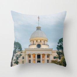 Alabama State Capitol 02 Throw Pillow