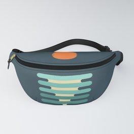 Minimalist ocean Fanny Pack
