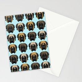 Mastiff Trio Stationery Cards