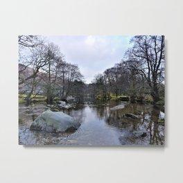 River Brathay 2 Metal Print