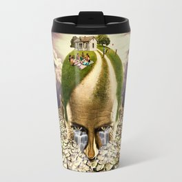 Inhabited Head Travel Mug