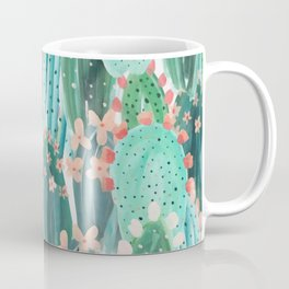 Colorful watercolor cacti Coffee Mug