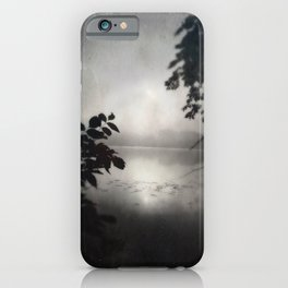 Ghostly Gardens The Mists of Shadow Lake  iPhone Case