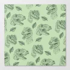 Dino Damage Canvas Print