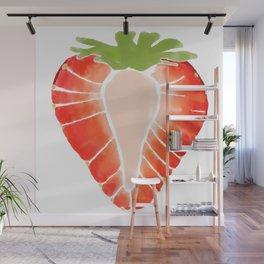 Strawberry Secret Wall Mural