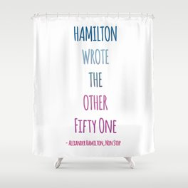 THE OTHER FIFTY ONE Shower Curtain