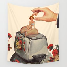 Breakfast time Wall Tapestry
