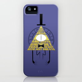 The beast with just one eye iPhone Case