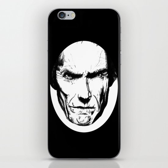 Clint Eastwood iPhone & iPod Skin