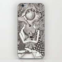 bond iPhone & iPod Skins featuring Bond by Anca Chelaru