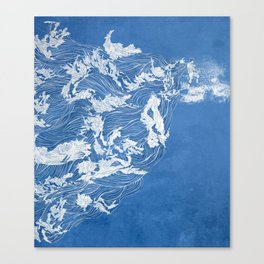 Thief of the waves Canvas Print