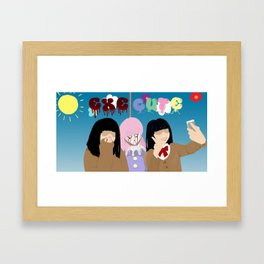 ExeCute - Freak Show Framed Art Print