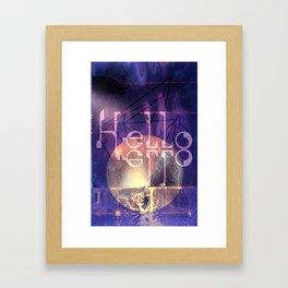Hello Hello Framed Art Print