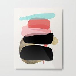 Modern minimal forms 1 Metal Print