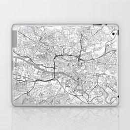 Glasgow Map Line Laptop & iPad Skin