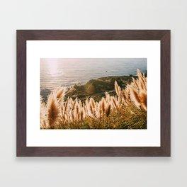 Big Sur at Sunset Framed Art Print