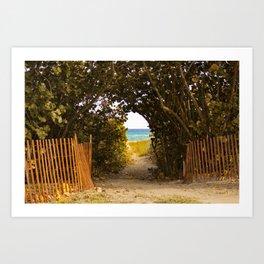Path To Paradise. Art Print