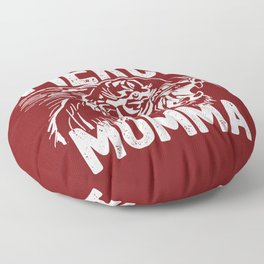 Fierce Momma / Red Floor Pillow