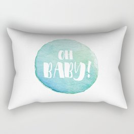 {Oh baby!} Rectangular Pillow