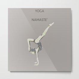 Yoga Position - 02 Metal Print