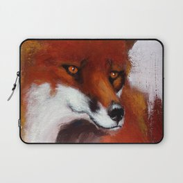 The Watching Fox Laptop Sleeve