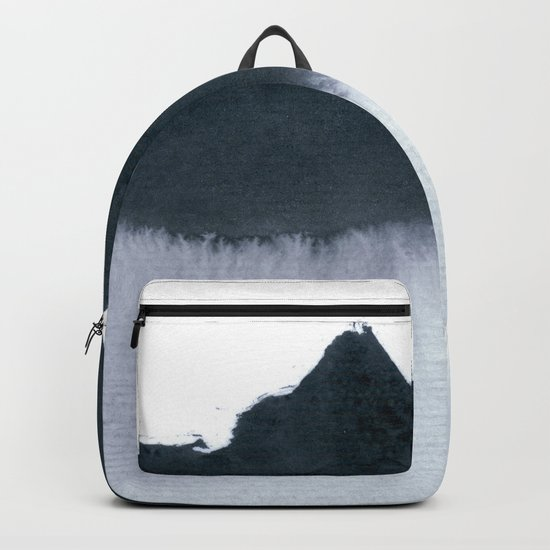 mountain scape minimal Backpack