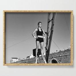 GO d'Azur acrobatique Serving Tray