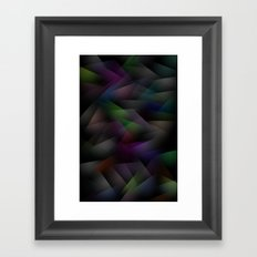 Abstract Geometric Shapes 1 Framed Art Print