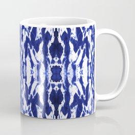Ayashi Shibori Ikat Blue Coffee Mug