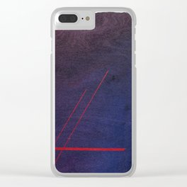 Love Is Always The Silver Lining Clear iPhone Case