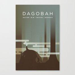 Outer Rim Travel Bureau: Dagobah Canvas Print