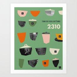 COLORADORE 025 Art Print