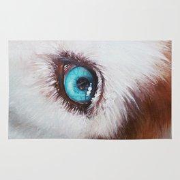 Husky's eye Rug