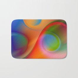 a towel full of colors Bath Mat