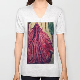 Red fairy Unisex V-Neck