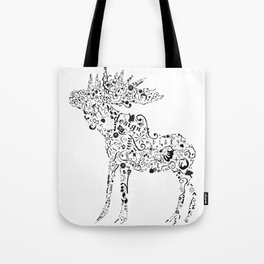 Many shapes of the Moose Tote Bag