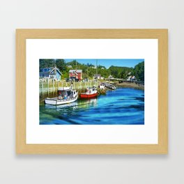 Harbourville, Nova Scotia Framed Art Print