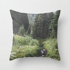 Through the Woods Throw Pillow