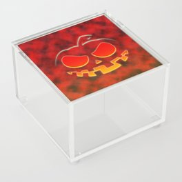 Screaming Pumpkin Acrylic Box