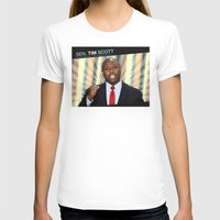 tim shumate T-shirts featuring Tim Scott by politics