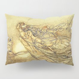 """Fairies in Kensington Gardens"" by Arthur Rackham Pillow Sham"