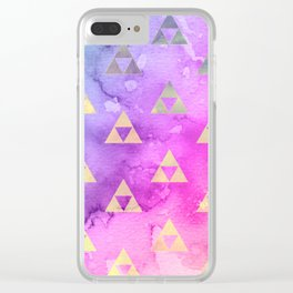 Royal Realm Clear iPhone Case