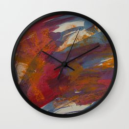 Monkey In The Middle Wall Clock