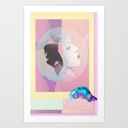 TRAPPA•KEEPA 1984 olympics Art Print