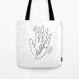 Blind Hello #19 Tote Bag